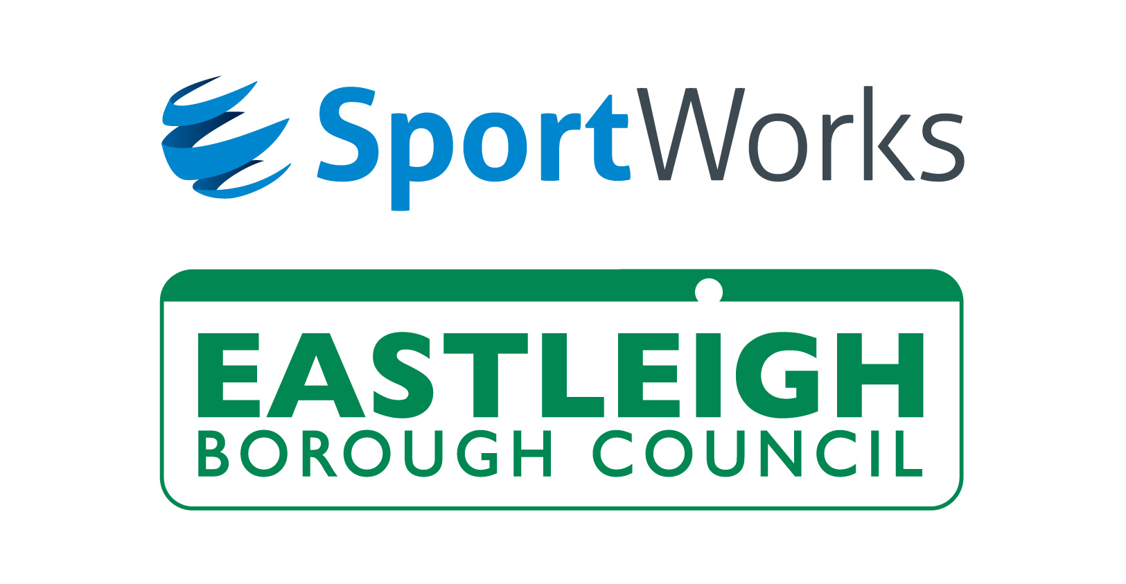 Sports Works - Eastleigh Borough Council logo